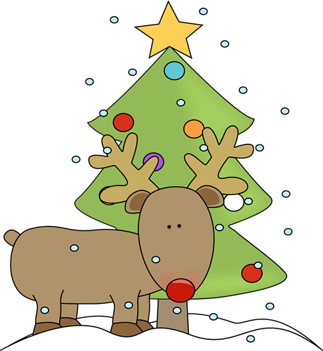 Free Christmas Reindeer Clipart
